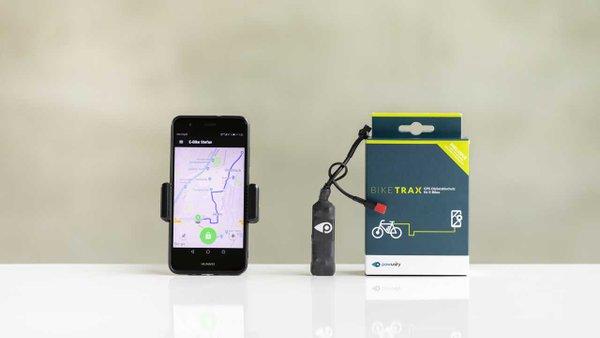BIKETRAX GPS Diebstahlschutz für Bosch-E-Bikes
