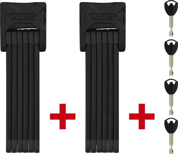 ABUS Bordo 6000/90 TwinSet black SH